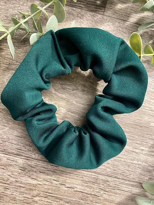 Bottle Green Scrunchie