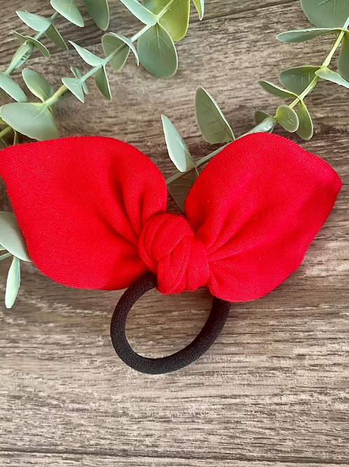 Red Knot Bow Bobble