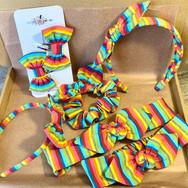 Bright Rainbow Stripe