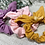Thumbnail: Knot Bow Scrunchies Colours of the Rainbow
