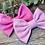 Thumbnail: Bright Pink Classic Bow Prong Clip