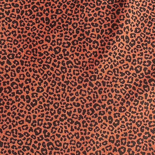 Mini Terracotta Leopard Scrunchie