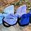 Thumbnail: Cornflower Blue Knot Bow Bobble