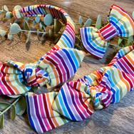 White Rainbow Stripe
