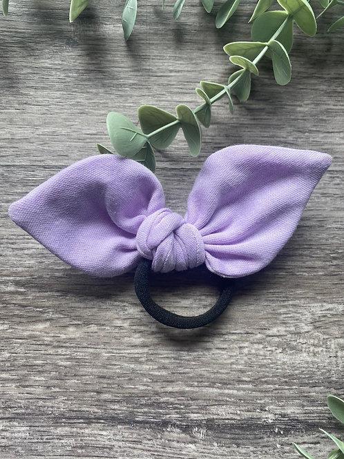 Pale Lilac Knot Bow Bobble