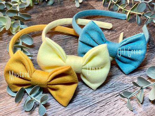 Lemon Classic Bow Headband