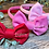 Thumbnail: Raspberry Classic Bow Headband