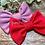 Thumbnail: Raspberry Classic Bow Prong Clip