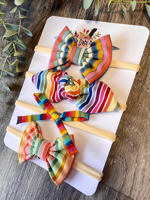 Rainbow Stripe Baby