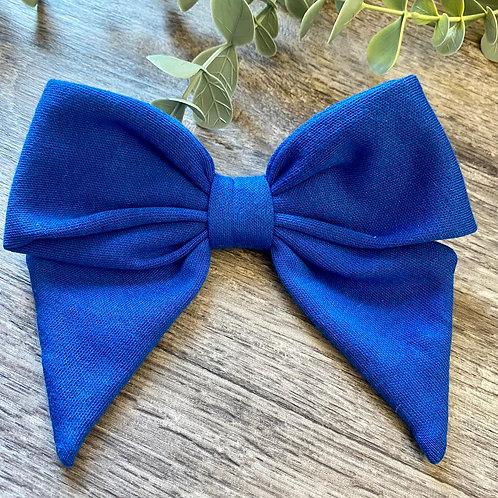 Royal Blue Holly Bow