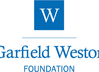 Donation from Garfield Weston Foundation
