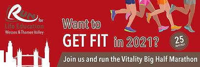 Vitality Big Half Marathon 25 April 2021