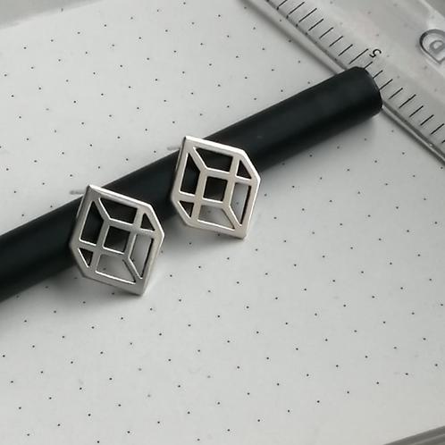 Illusion Cube Studs