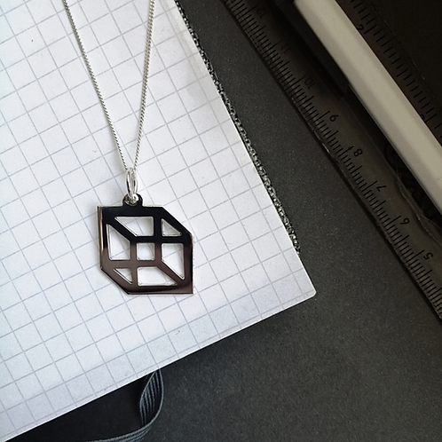 Illusion Cube Pendant