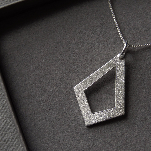 Frosted Diamond Necklace