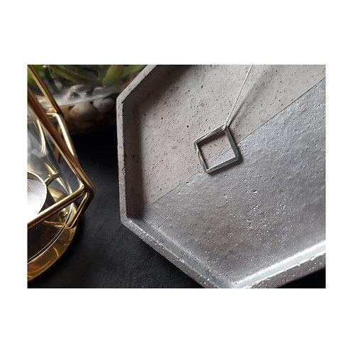 Simple Square Necklace