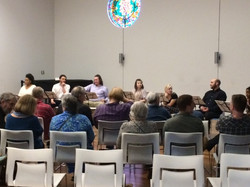 A Reading of Out, NC