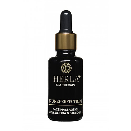 Face massage oil with jojoba & stoechoil 30ml