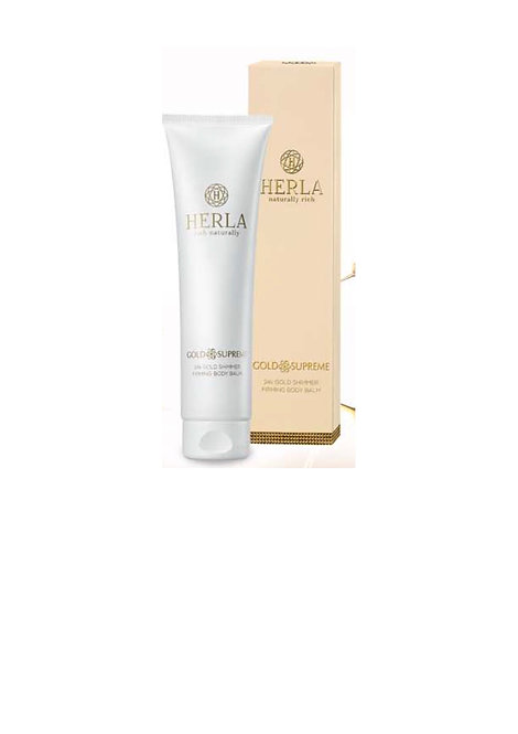24k gold shimmer/firming body balm with pure goldflakes 150ml
