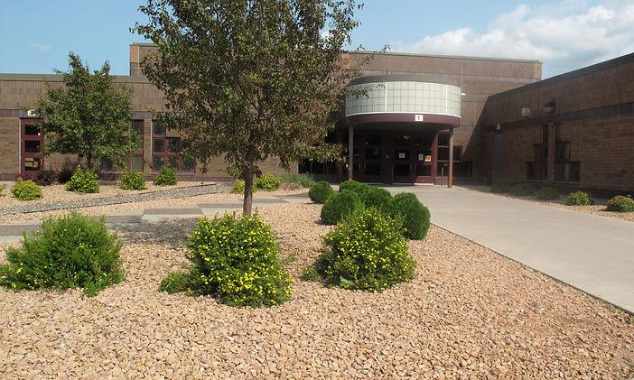 Isle School District Entrance