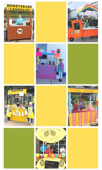 Lemonade Day Collage