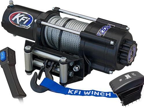 KFI Wide 4500 lb UTV Winch