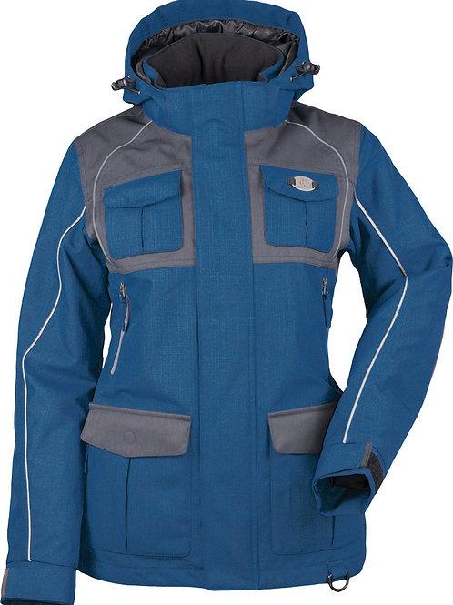 Divas Arctic Appeal Jacket Ocean Blue Charcoal