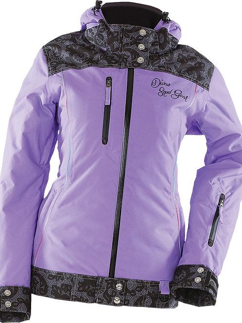 Divas Lace Jacket in Purple, Size Small