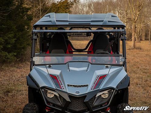 SuperATV Yamaha Wolverine X2 Scratch Resistant Flip Windshield