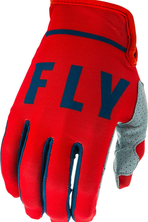Fly Racing Lite Gloves Red / Slate / Navy