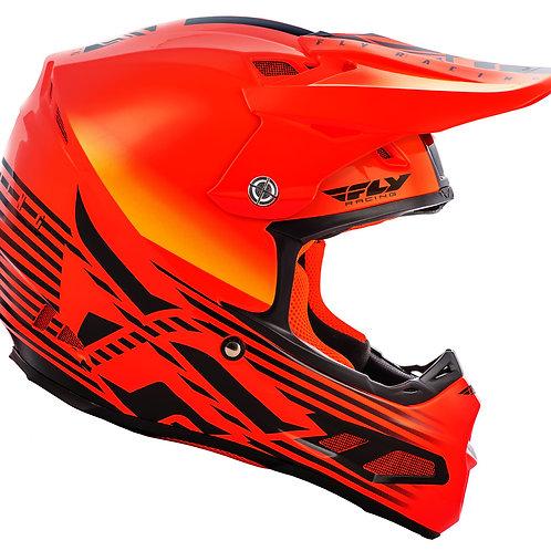 FLY Racing F2 Carbon Cold Weather Shield Helmet Hi-Vis