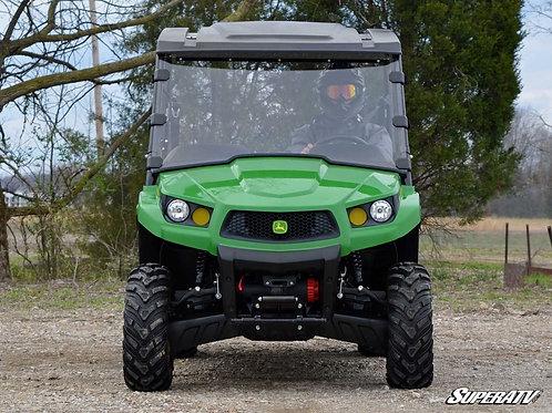 SuperATV John Deere Gator XUV Full Windshield - Scratch Resistant