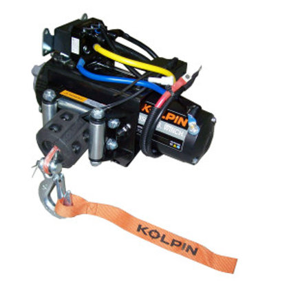 3,500 lb Synthetic Rope Quick Attach Winch - Polaris ATV Models