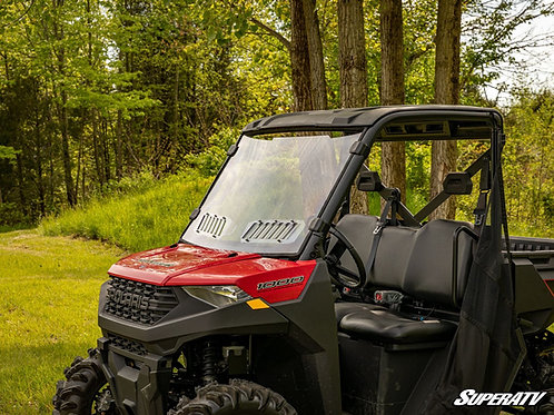 SuperATV Polaris Ranger XP 570 Scratch Resistant Vented Full Windshield