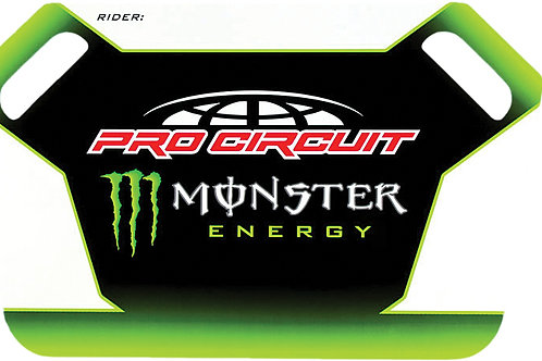 Pro Circuit Monster Energy Pit Board W/Marker