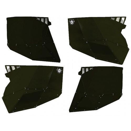 Pro Armor RZR® XP4 1000 Stealth Door (Aluminum Door Skins/ Front & Rear)