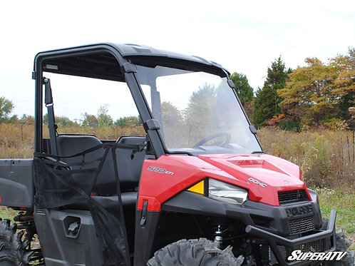 SuperATV Polaris Ranger Midsize Full Windshield (2015+)