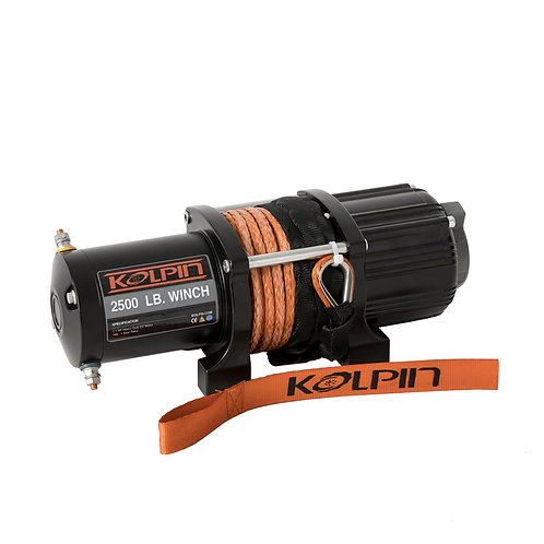 2,500 lb Kolpin Winch (Synthetic Rope)