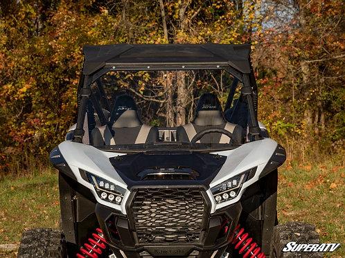 SuperATV Kawasaki Teryx KRX 1000 Scratch Resistant Full Windshield