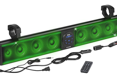 """Boss Audio 36"""" Riot Sound Bar with RGB 8 Speakers Fits 1.5-2.0"""" Bars"""