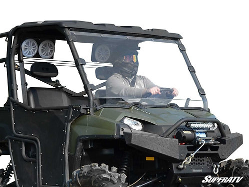 SuperATV Polaris Ranger Full-Size 500 Full Windshield