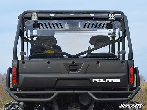SuperATV Polaris Ranger 900 Diesel Vented Full Rear Windshield