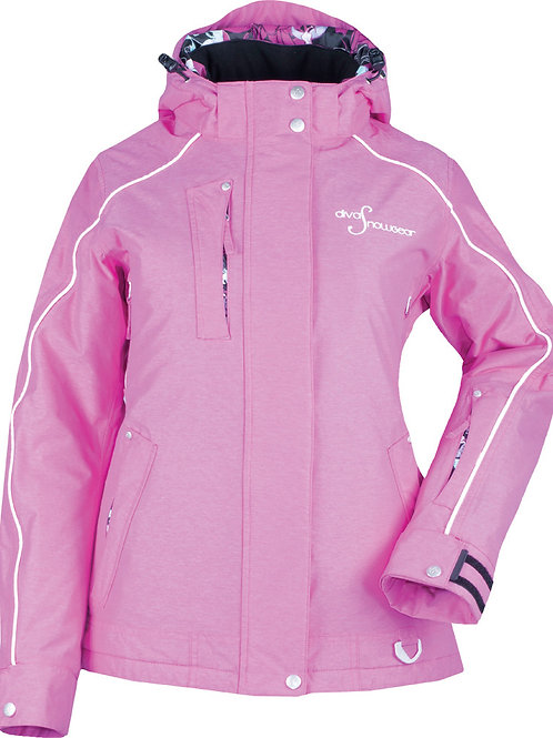 Divas Lily Collection Jacket in Pink Heather