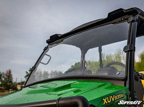 SuperATV John Deere Gator XUV 835/865 Scratch Resistant Full Windshield