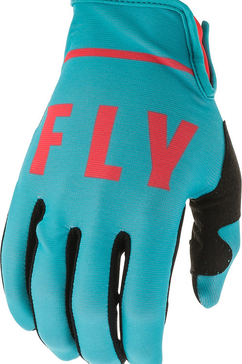 Fly Racing Lite Gloves Blue / Coral