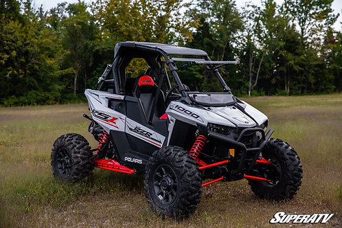 SuperATV Polaris RS1 Scratch Resistant Flip Windshield