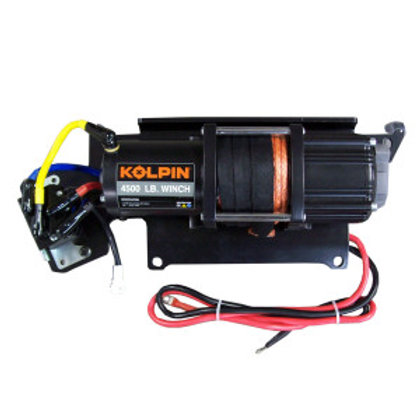 4,500 Synthetic Rope Quick Attach Winch - Polaris Ranger