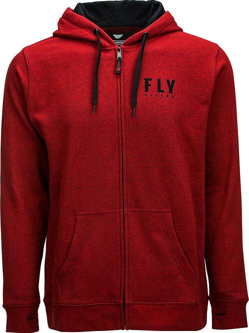 Fly Racing Fly Logo Zip Up Hoodie