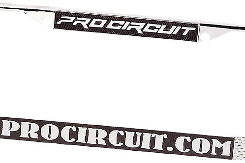 Pro Circuit License Plate Frame