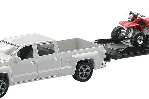 New-Ray Truck w/Sport Vehicle Replica